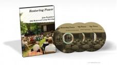Restoring Power - John Bradshaw (DVD)